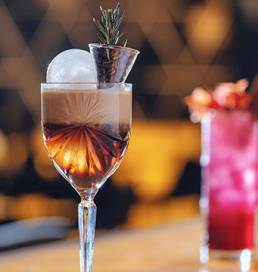 Iris Cocktails