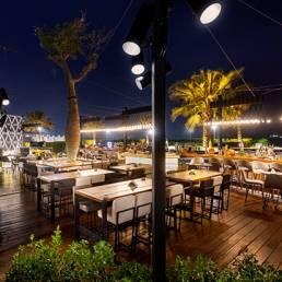 Iris Doha - Outdoor Terrace